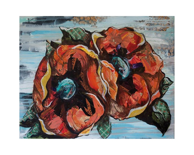 AUTUMN POPPIES LIMITED EDITION PRINT • $50 (small) $75 (large)