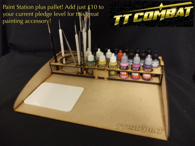 [PS2003] - Paint station plus pallet - £10 add on