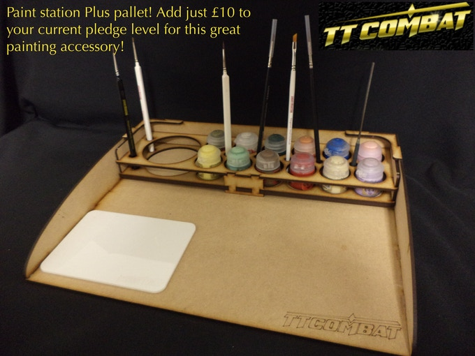 [PS2004] - Paint station plus pallet - £10 add on