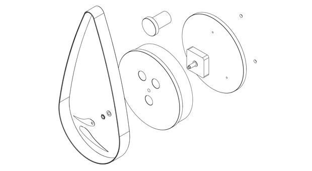 Silva's technical drawing.