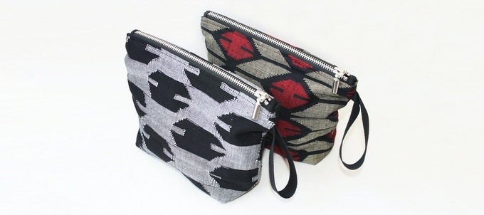 For a pledge of £35: This large purse is ideal to be used as a wash bag, make-up bag or 'use-it-to-keep-all-my-general-stuff-together' bag! The purse is fully lined with a metal zip, and available in a range of colours.