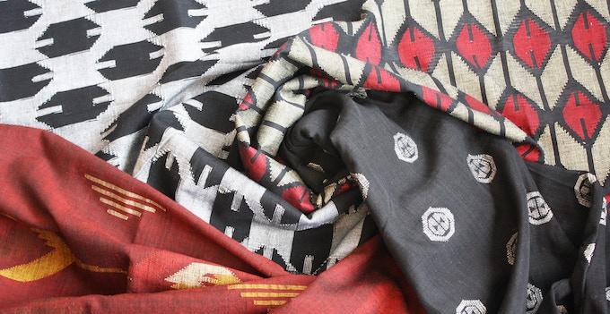Nepalese dhaka textiles