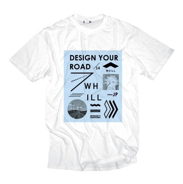 WHILL x EZEKIEL Collaboration T-shirt