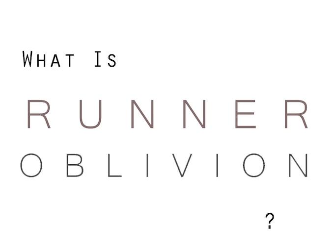 Runner Oblivion by George Marshall — Kickstarter