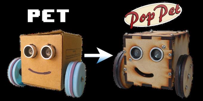 PET was the precursor to PopPet.
