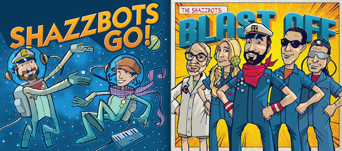 Shazzbots GO! and Blast Off!