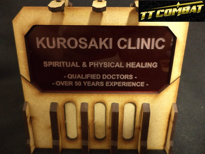 [SFU024] - Sign E (Kurosaki Clinic) - Red - 1 sheet