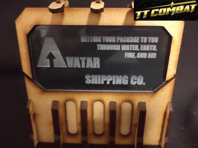 [SFU025] - Sign F (Avatar Shipping Co.) - Light blue - 1 sheet