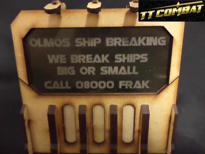 [SFU026] - Sign G (Olmos Ship Breaking) - Smokey - 1 sheet
