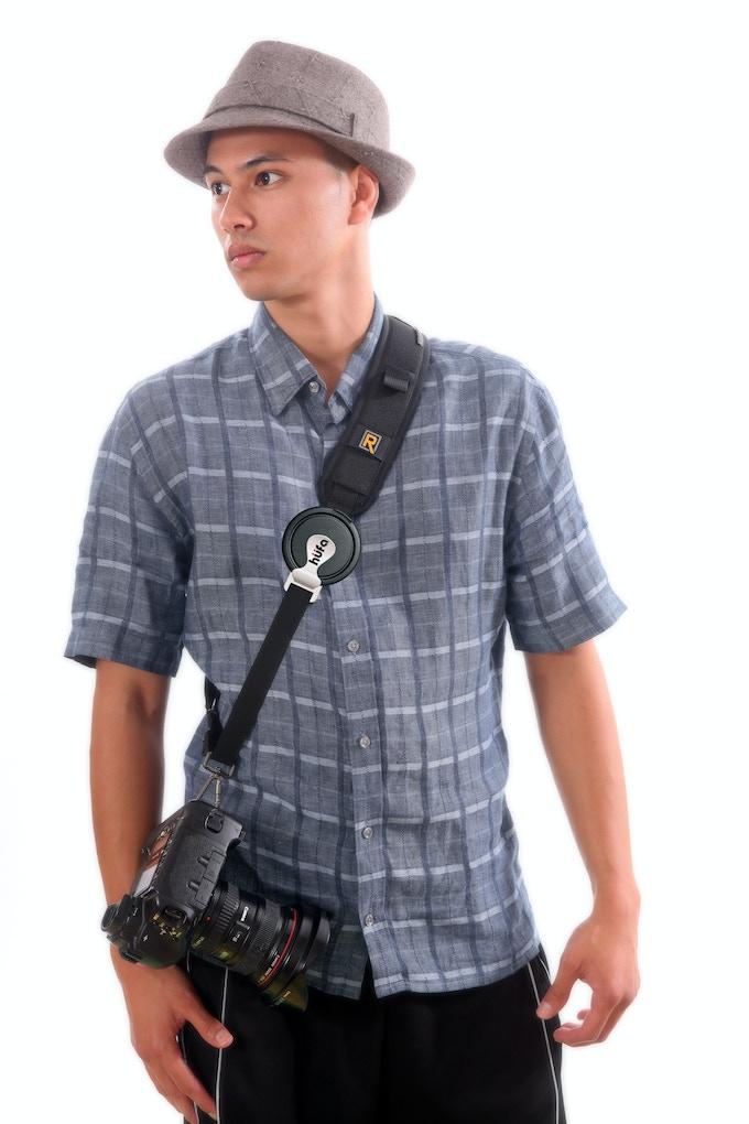 "Hufa ""S"", sling style & 1"" straps, reward 6"