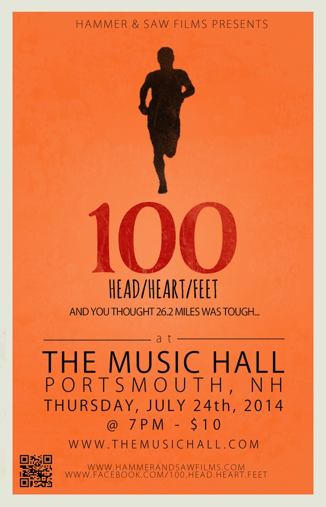 ... NH on July 24th that we thought we would share a little teaser! Click HERE, buckle up and get ready for 100: Head/Heart/Feet at the Music Hall!