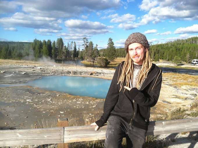 Me at Yellowstone Park!