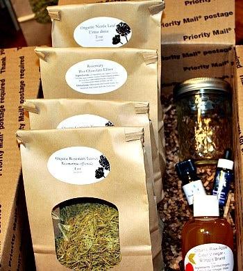 Rosemary herb box.