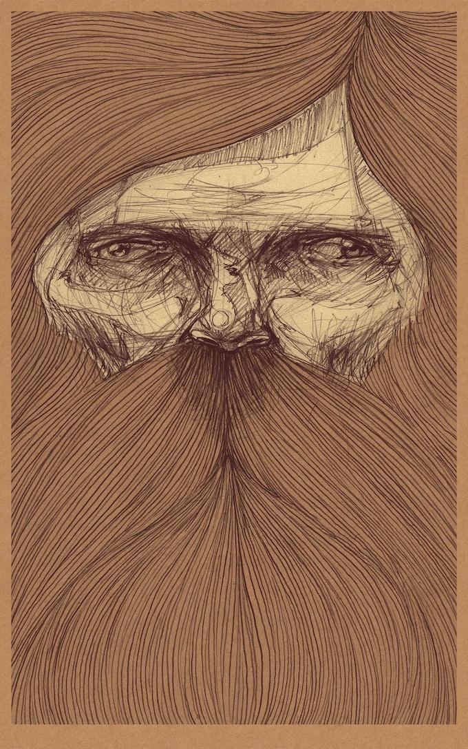 'Beaufort' by Zach Landrum (Olde Soul Print Shop)