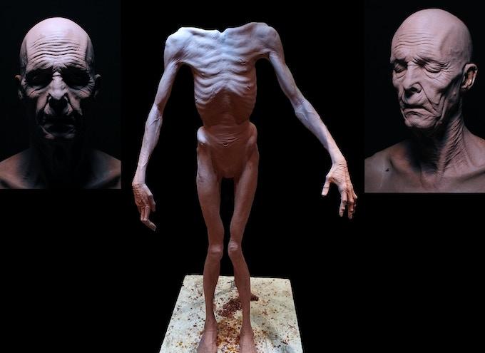 Sculpture by Joey Orosco and Hiroshi Katagiri