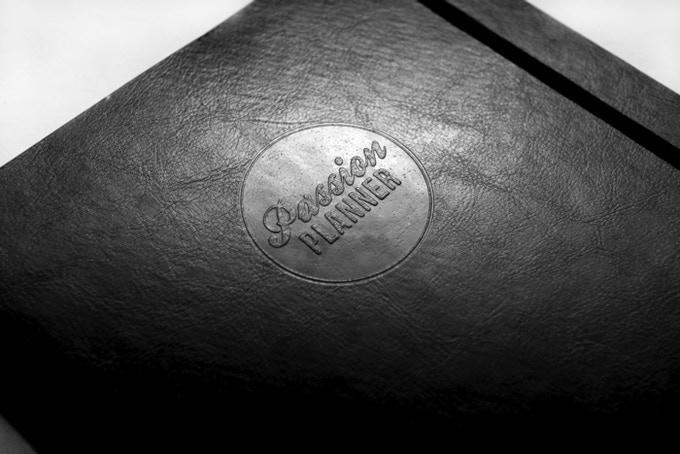 Faux leather embossing! So subtle yet still bold.