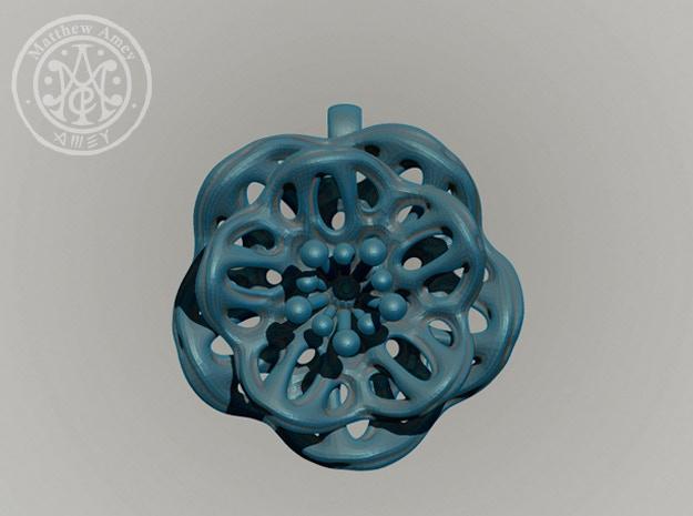 Blossom #1 - Dimensions: 1.487 w x 0.638 d x 1.549 h (inches)