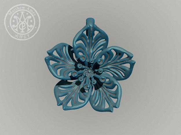 Blossom #5 - Dimensions: 1.668 w x 0.575 d x 1.691 h (inches)