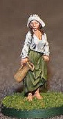 Exclusive Dairy Maid figure comes unpainted