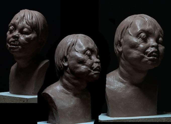 1/3 SCALE CREEPY KID Sculpted by HIROSHI KATAGIRI