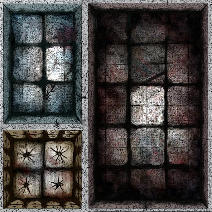 Play in the dark tile look. Not final art.