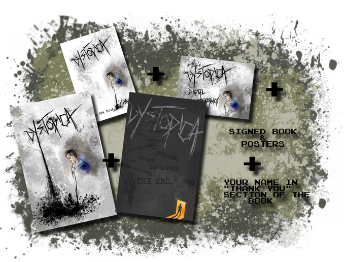"The Book(signed)+Soundtrack+2 Posters(signed)+YOUR NAME in the ""Thank You"" page of book"