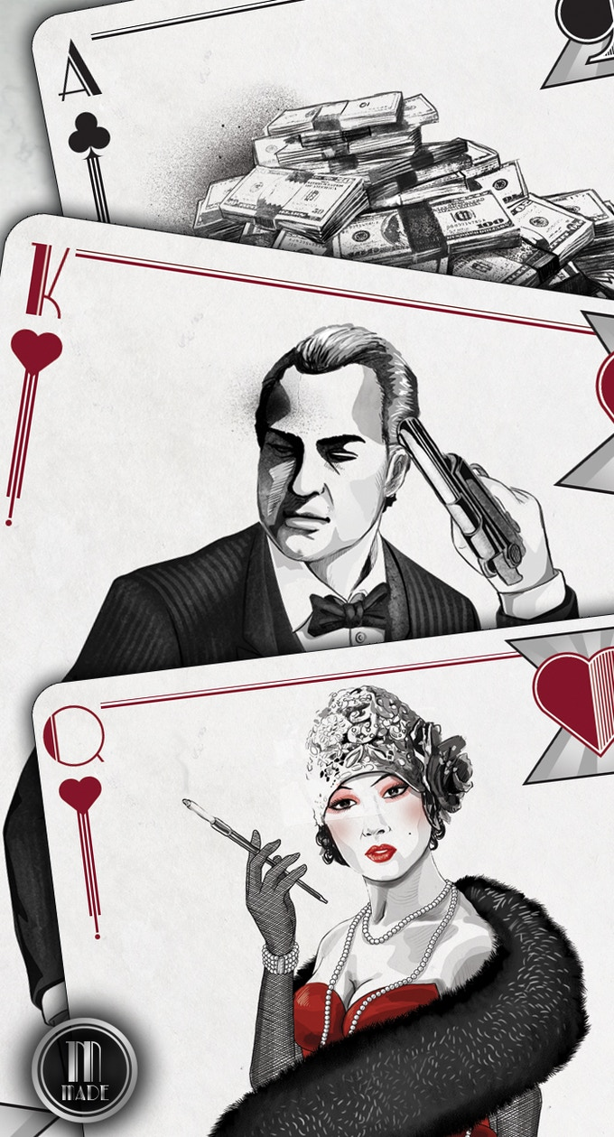 Get MADE! Mob-Themed USPCC BICYCLE® Playing Card Decks by ...
