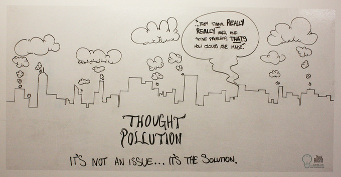 Thought Pollution is a Solution