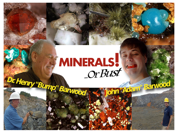 """We need your help to make """"Minerals or Bust!"""" a reality! Thanks for taking a look!"""