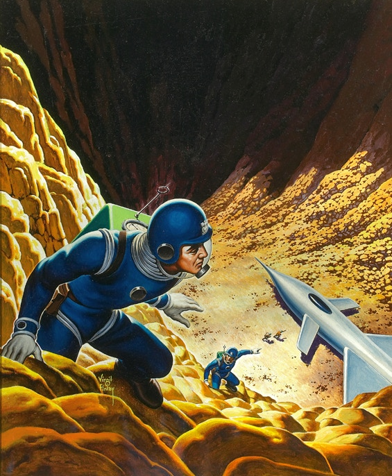 Cover of Space Police a novel by Andre Norton