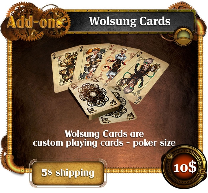 Add-ons - Wolsung gaming cards