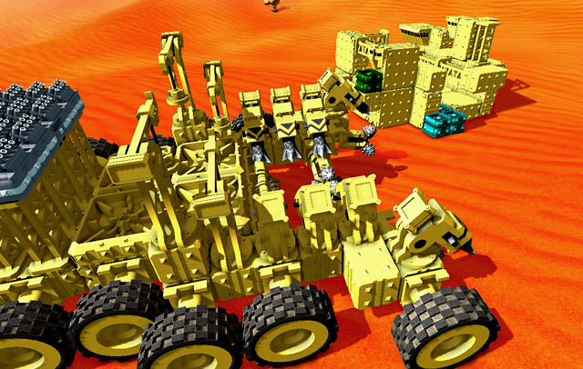 How Much Ram Do I Need >> TerraTech – physics-based vehicle construction & combat by Payload Studios — Kickstarter