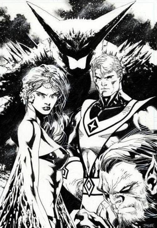 Jim Lee pays tribute to Dave Cockrum