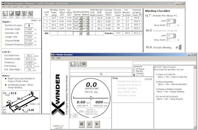 X-Winder 2.0 : The Original Desktop Filament Winder by