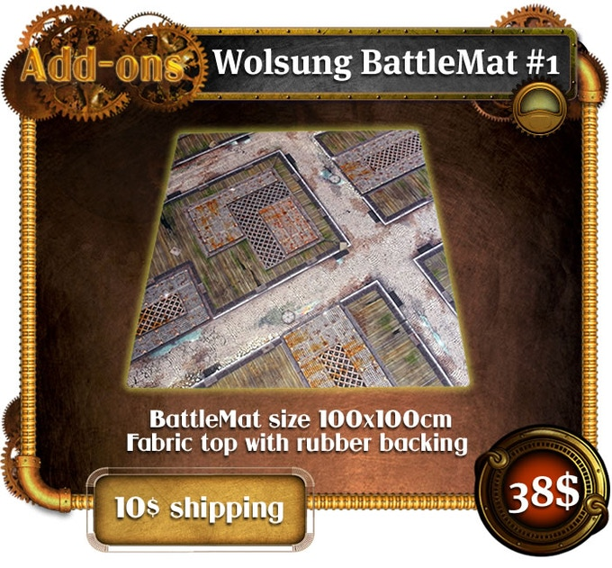 Add-ons - Wolsung Battle Mat #1