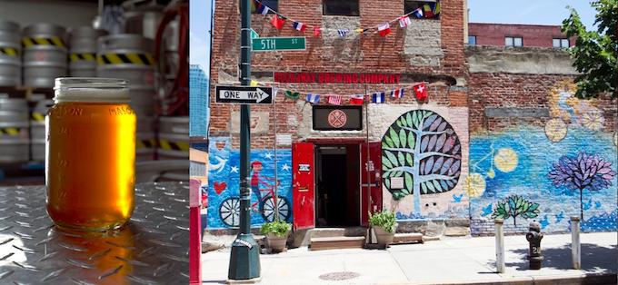 The Original Rockaway ESB: brewed here in Queens, NY