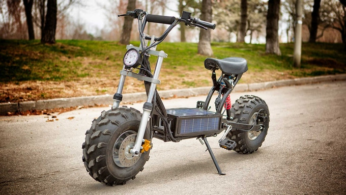 how to make daymak scooter go 50 km