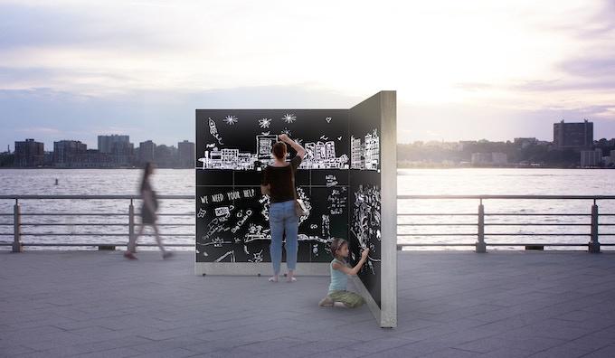 Scratchbox at Pier 62 in Chelsea*