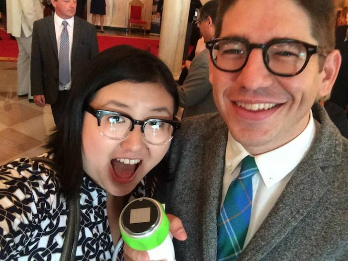 Lisa Fetterman and Yancey Strickler