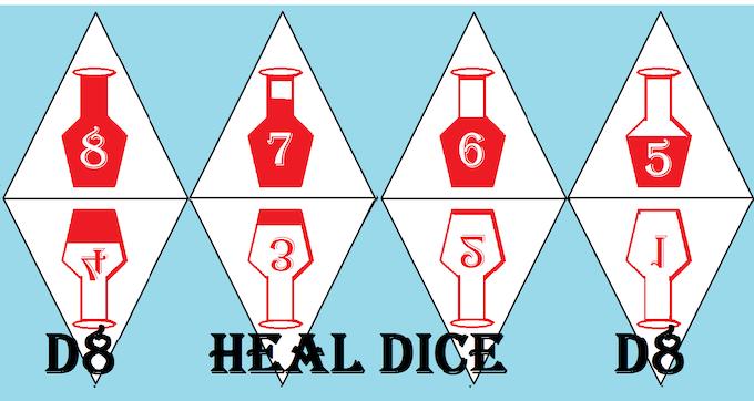 Heal d8s. Kickstarter coming soon