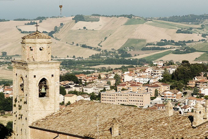 Montegranaro is home of many world-famous shoe makers