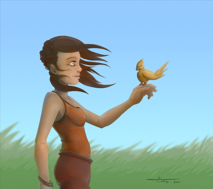Birdy, by Timothee Giet