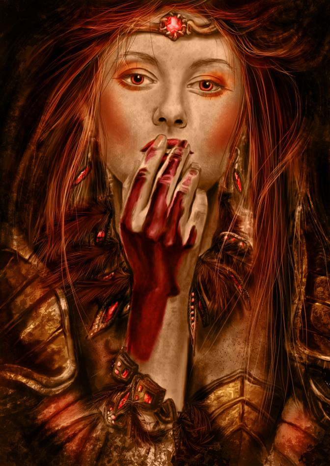 Warrior, by Canitiem