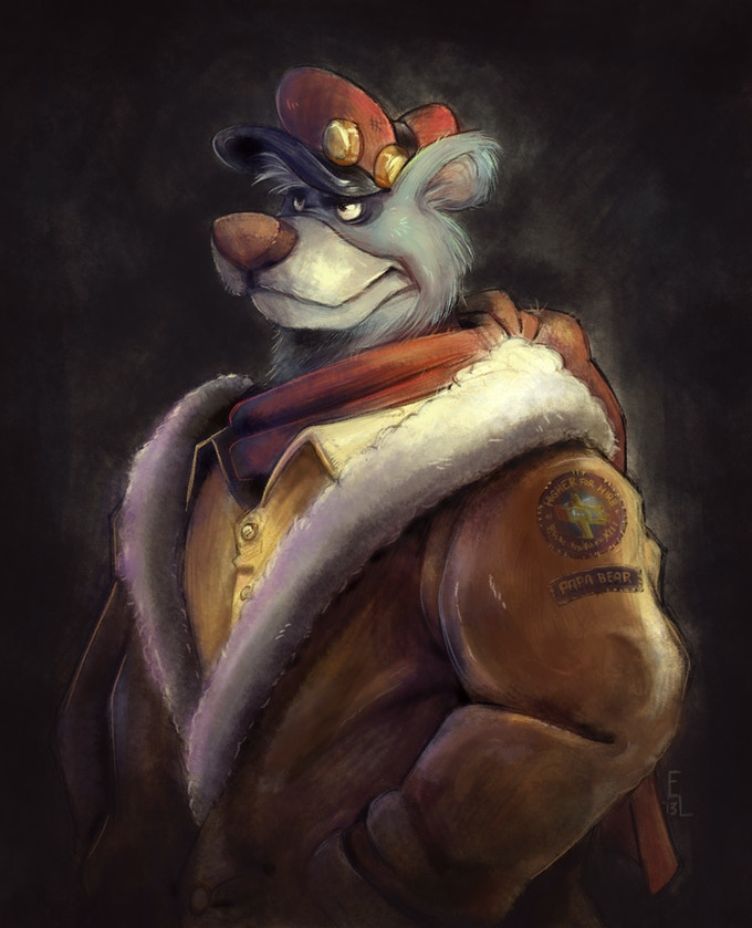 Baloo von Bruinwald XIII, by Eric3dee