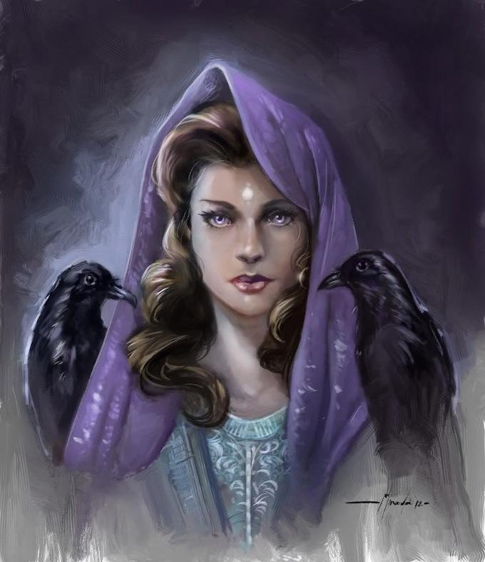 Lady Night, by Ramon Miranda