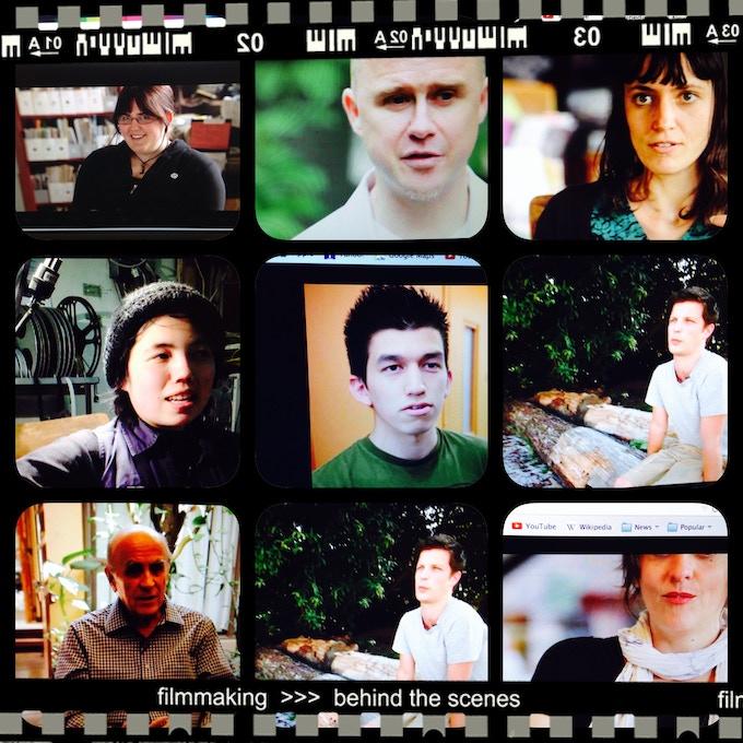 shots from interviews!