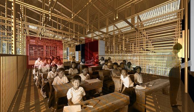 formal classroom - enclosed