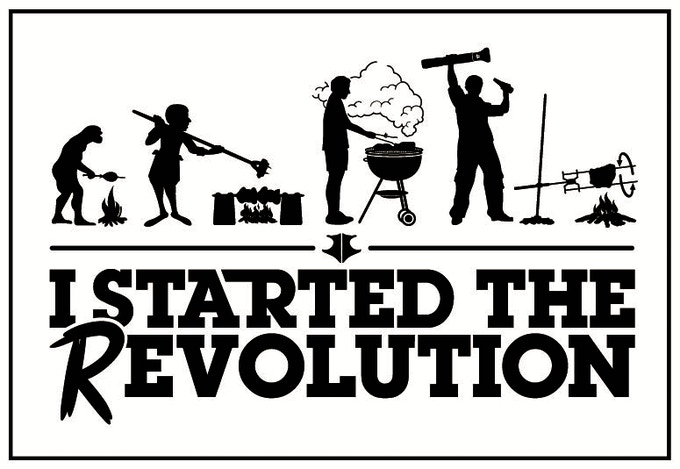THE MUST HAVE BBQ GRILL: The REvolution of BBQ Check it