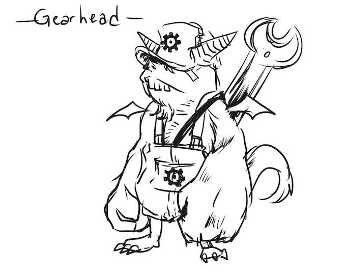 Gearhead Concept Art