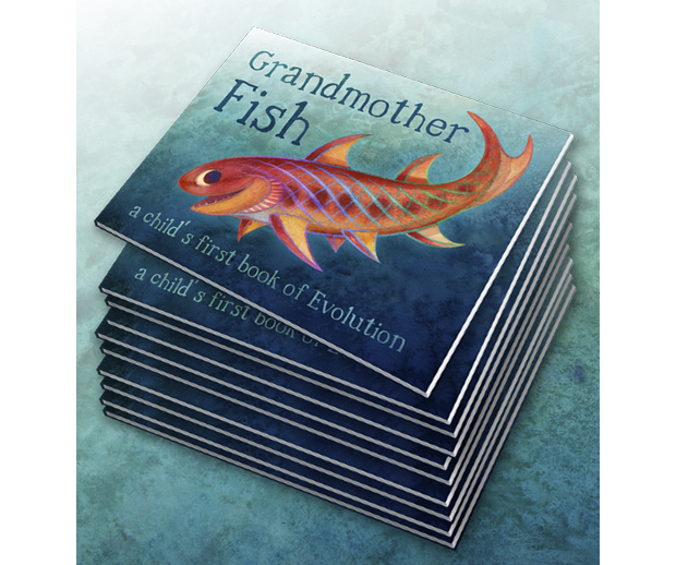 Grandmother fish a child s first book of evolution by for Max fish menu